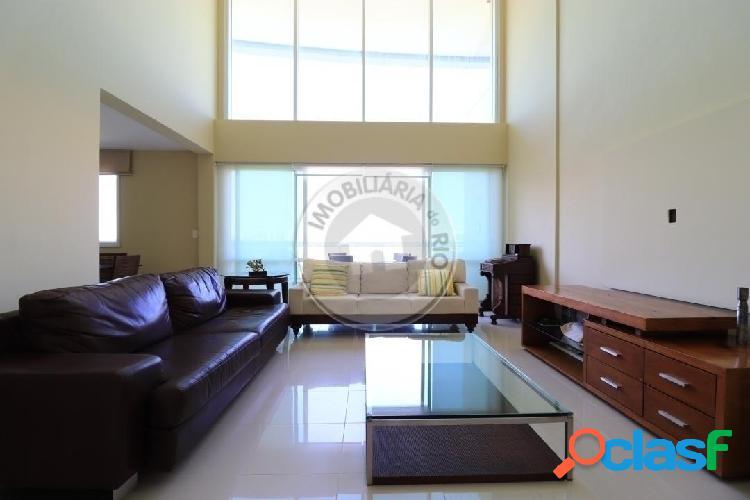 Apartamento duplex 160m², vista lagoa, Península Excellence
