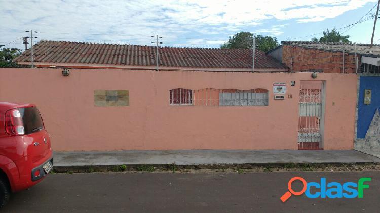 Vendo duas casas no mesmo terreno no conjunto flamanal planalto - manaus - am