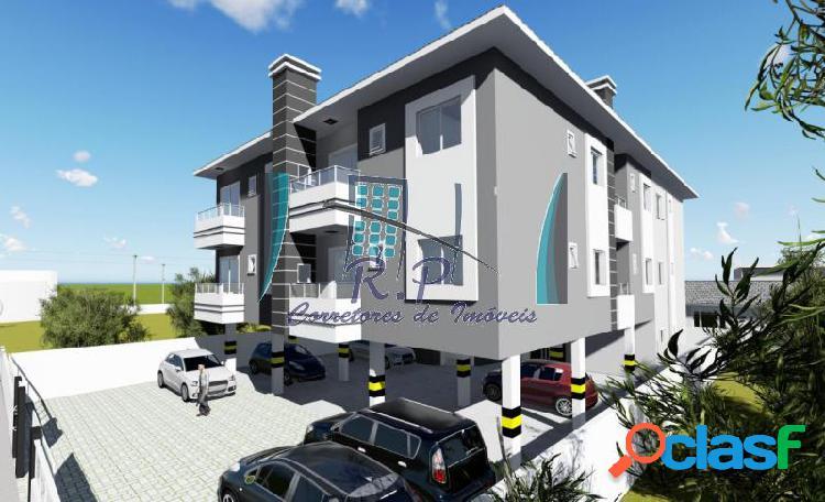 Apartamento com 2 dorms em florianópolis - ingleses do rio vermelho por 140 mil à venda