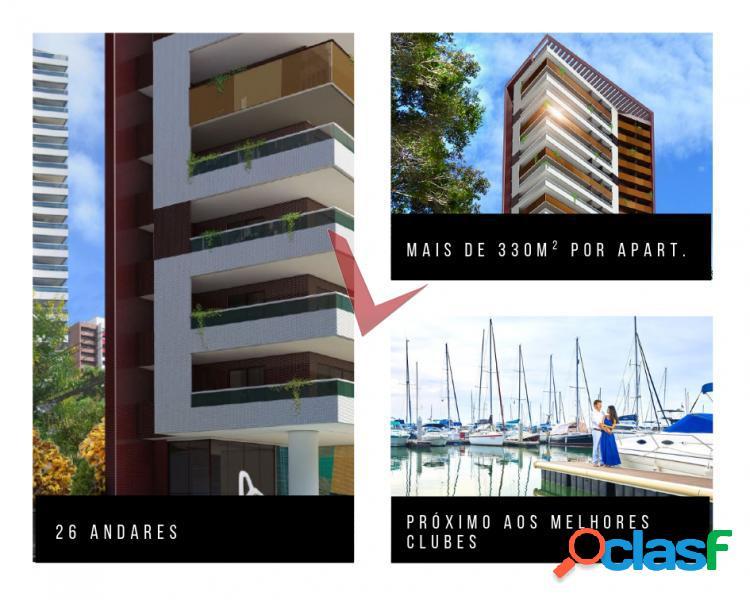 Apartamento de luxo próximo a praia - savoy - apartamento com 4 dorms em fortaleza - meireles por 3.04 milhões à venda