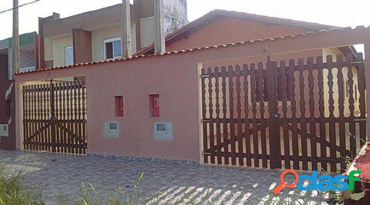 Casa com 2 dorms em itanhaém - balneario tupy por 160 mil para comprar