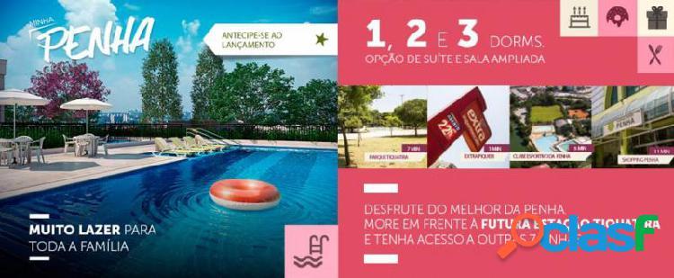 Apartamento com 2 dorms em São Paulo - Jardim América da Penha por 238 mil para comprar
