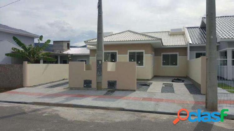 Casa com 2 dorms em palhoça - bela vista por 132 mil para comprar