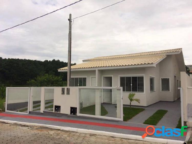 Casa com 2 dorms em palhoça - bela vista por 165 mil para comprar