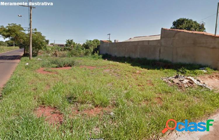 Terreno com 409 m2 em uberlândia - jardim ipanema por 189 mil à venda