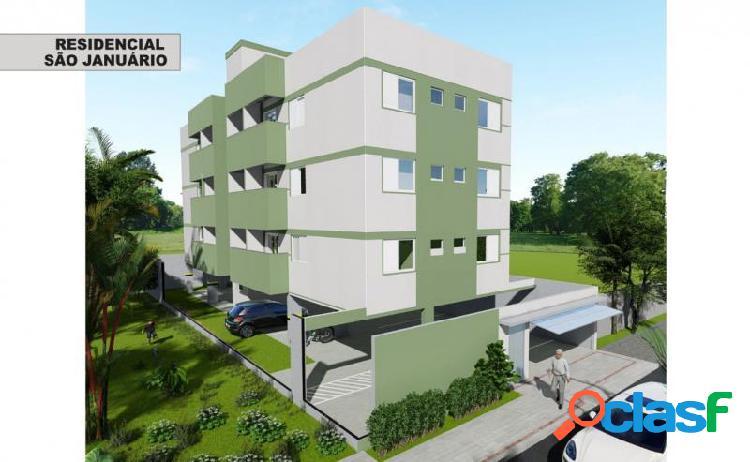 Apartamento com 2 dorms em uberlândia - tubalina por 140 mil à venda