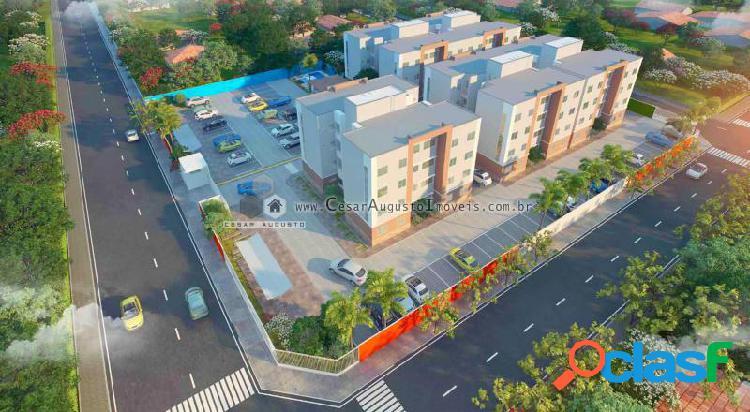 Bons ventos condomínio - apartamento com 3 dorms em caucaia - icaraí por 145.879,00 à venda