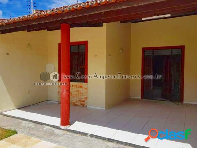 Casa plana na lagoa redonda - casa com 3 dorms em fortaleza - lagoa redonda por 260.000,00 à venda