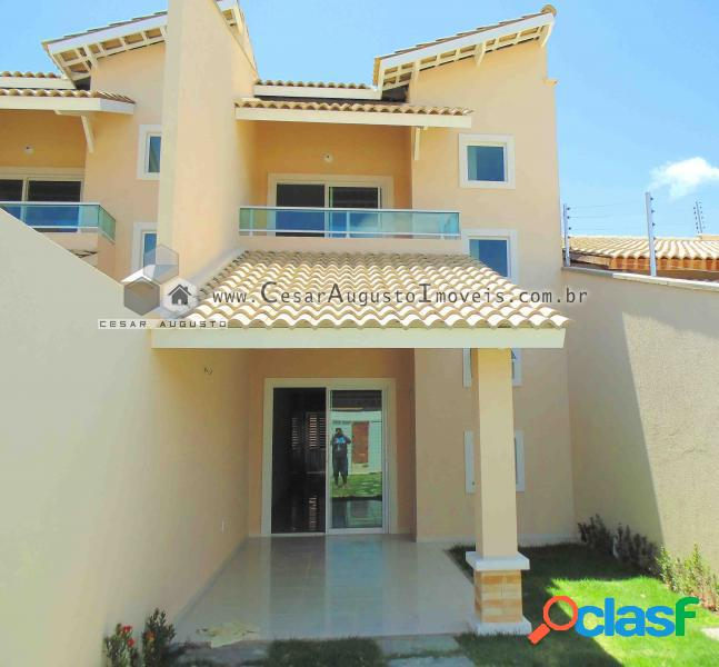 Casas Duplex na Lagoa Redonda - Casa com 3 dorms em Fortaleza - Lagoa Redonda à venda