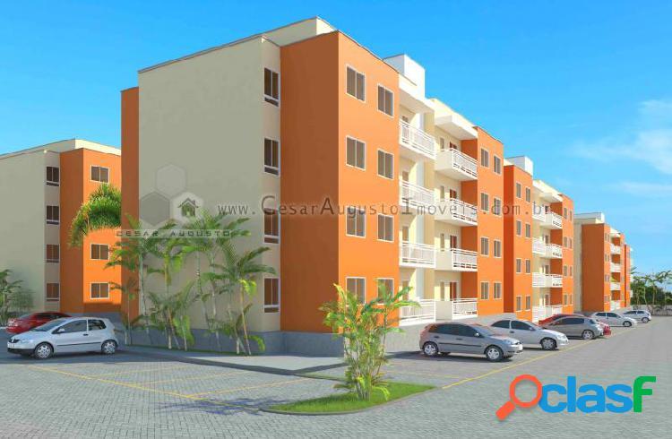 Citrino residence - apartamento com 3 dorms em caucaia - palmirim por 160.900,00 à venda