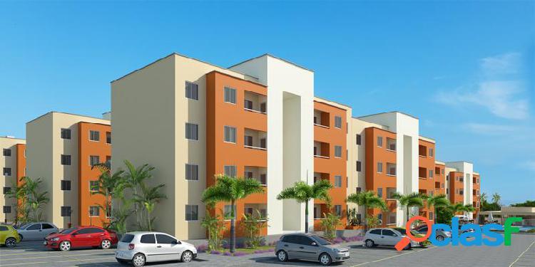 Opala residence - apartamento com 2 dorms em caucaia - palmirim por 139.283,00 à venda
