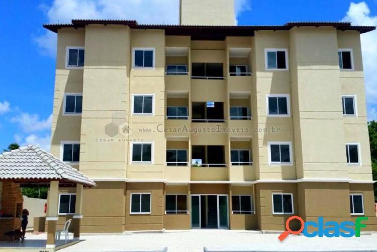 Residencial ancuri - apartamento com 2 dorms em itaitinga - jabutí por 124.500,00 à venda