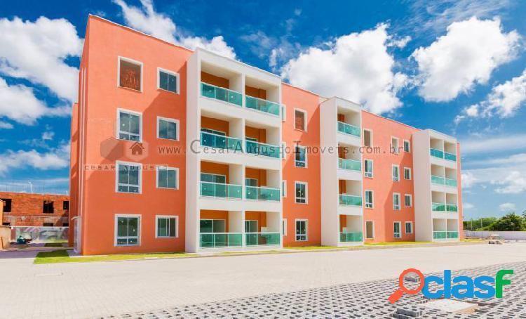 Sonata residence - apartamento com 3 dorms em eusébio - lagoinha por 177.494,00 à venda