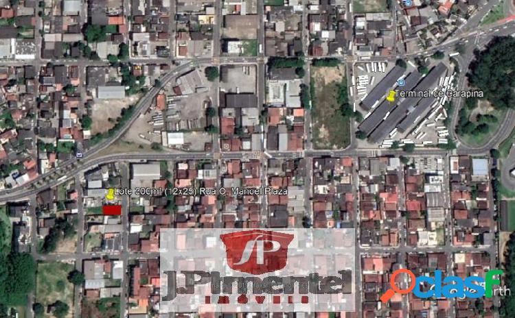 Terreno com 300 m2 em serra - manoel plaza por 280 mil à venda