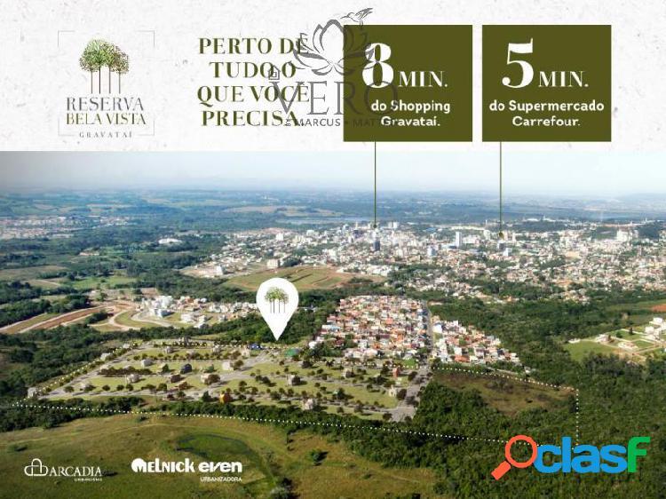 Terreno com 158 m2 em gravataí - loteamento jardim timbaúva por 95.04 mil à venda