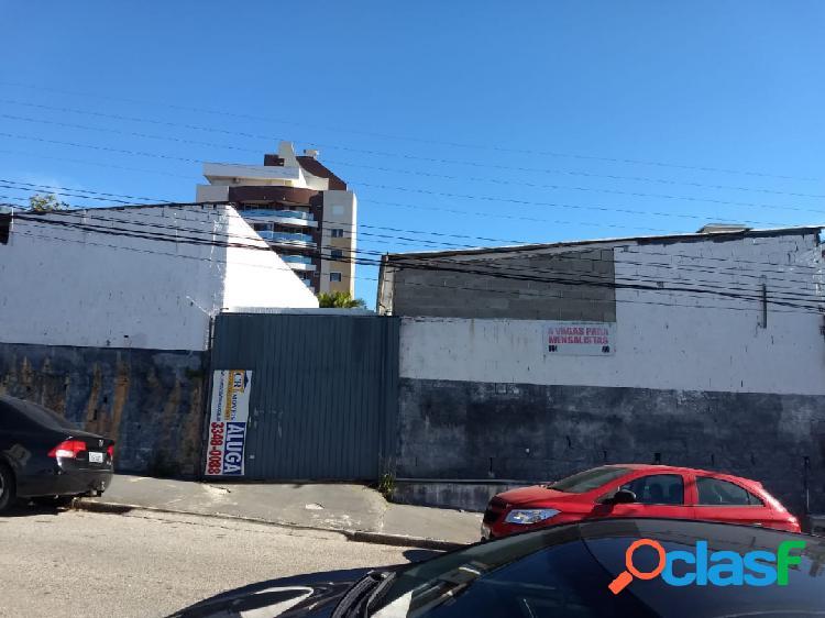 Terreno 550 m² - rua santa rita de cássia - estreito - florianópolis