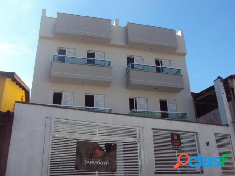 Apartamento com 2 dorms em santo andré - vila homero thon por 240 mil para comprar
