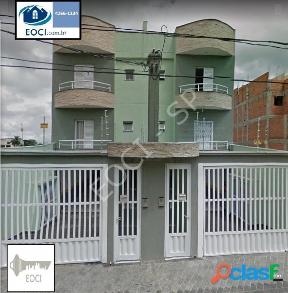Apartamento com 2 dorms em santo andré - vila humaitá por 297 mil à venda