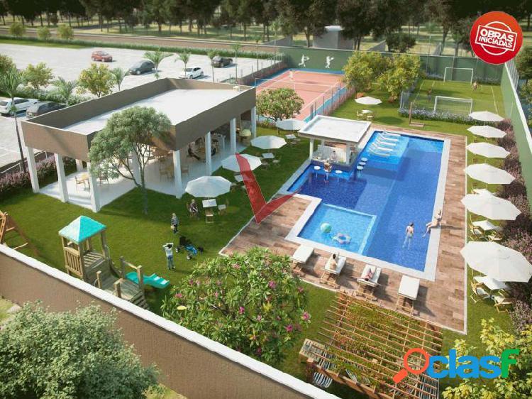 Apartamento cambeba quadra tênis villa roma - apartamento com 3 dorms em fortaleza - messejana por 311.63 mil à venda