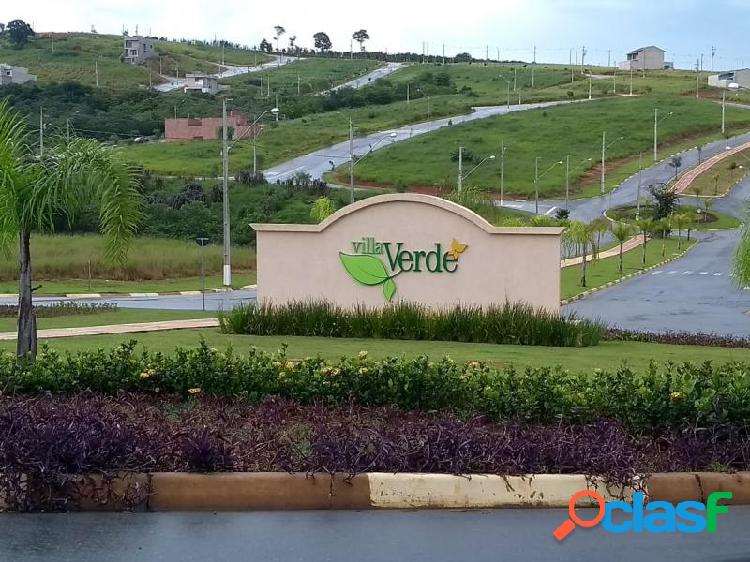 Terreno com 140 m2 em bragança paulista - condomínio villa verde bragança à venda