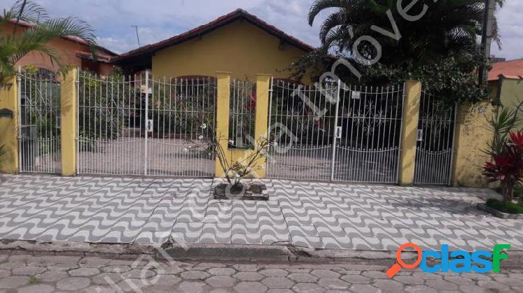 Casa com 2 dorms em mongaguá - florida mirim por 180.000,00 à venda