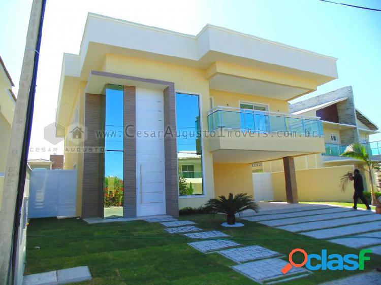 Casa duplex no alphaville eusébio - casa em condomínio em eusébio - alphaville por 1.650.000,00 à venda