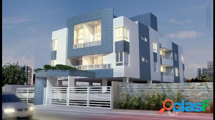 Apartamento com 2 dorms em joão pessoa - aeroclube por 175 mil à venda