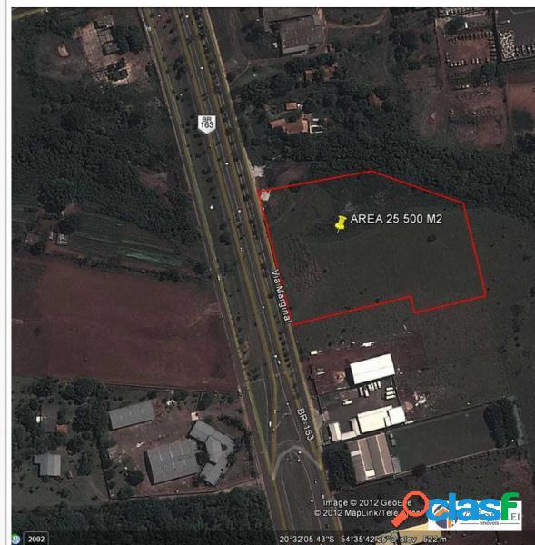 Terreno com 25000 m2 em campo grande - vila cidade morena por 2.75 milhões à venda