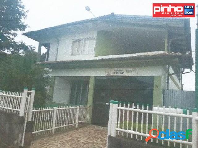 Casa 05 dormitórios, venda direta caixa, bairro seminário, taió, sc