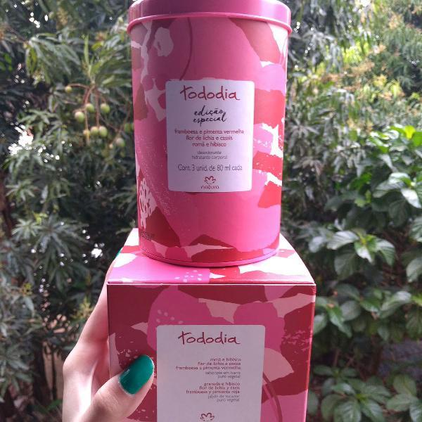 Kit hidratantes e sabonetes natura