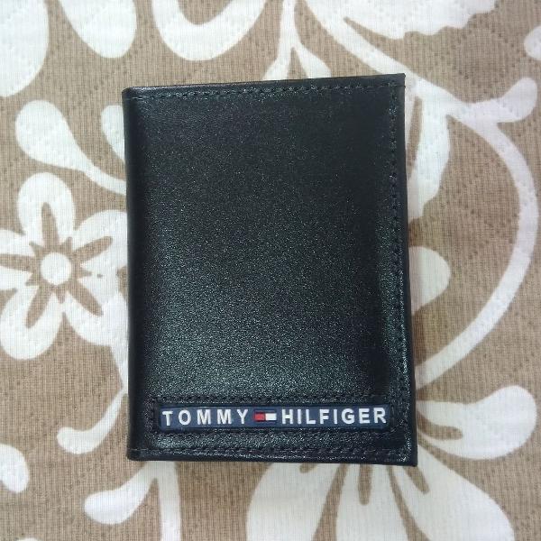 Porta cartões tommy hilfiger