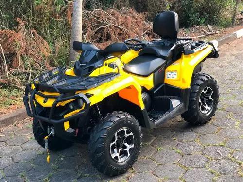 Quadriciclo can am 650 max xt 4x4 (direção elétrica)