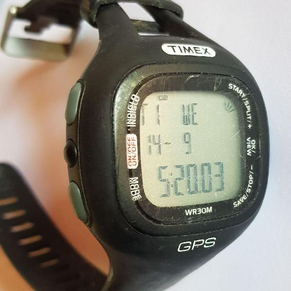Relógio timex marathon gps