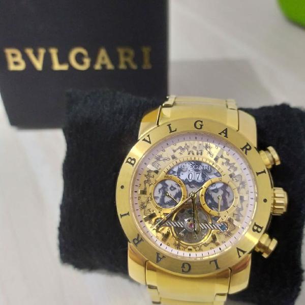 Relógio masculino bvlgari