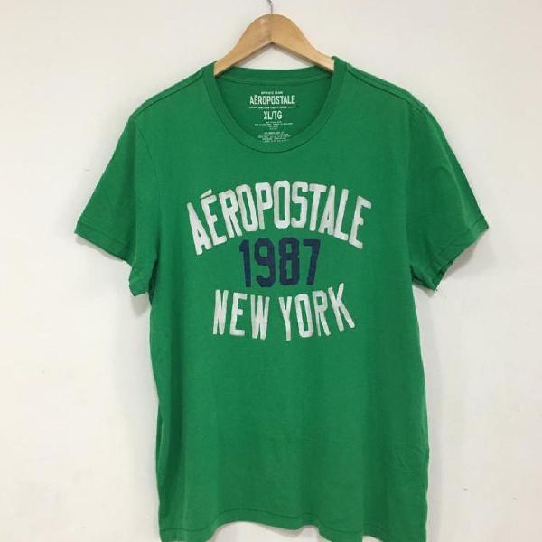 Camiseta masculina estampada aeropostale