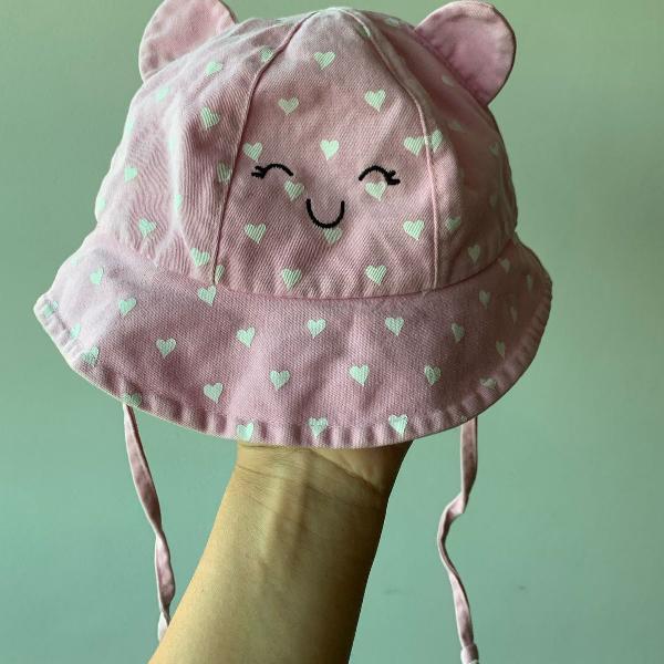 Chapéu fofinho de bebê