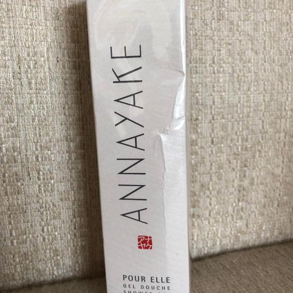 Gel de banho annayake pour elle feminino shower gel 150ml