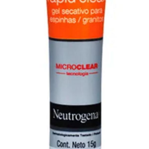 Gel secativo para espinhas neutrogena rapid clear 15ml