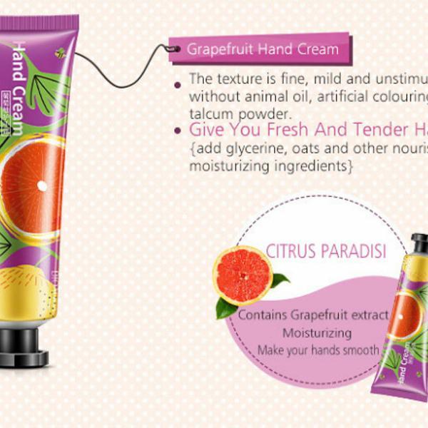 Hidratante para mãos grapefruit bioaqua