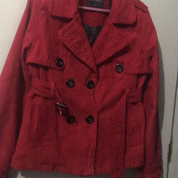Jaqueta em camurça
