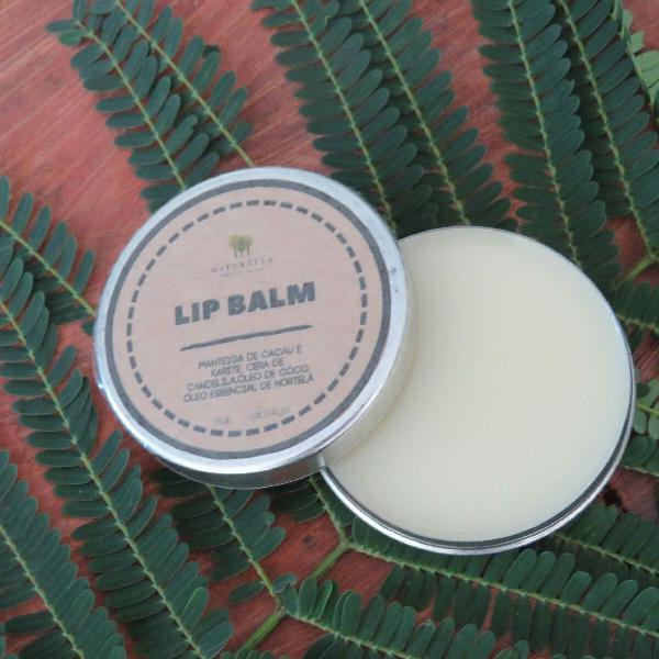 Lip balm natural vegano