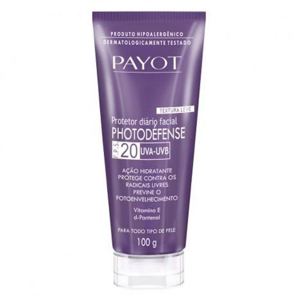 Payot photodéfense fps20 com ácido hialurônico 100g