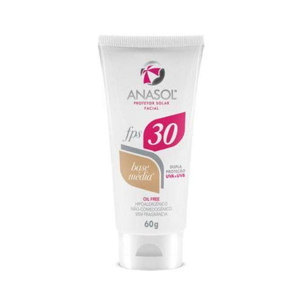 Protetor solar facial base clara fps 30 anasol