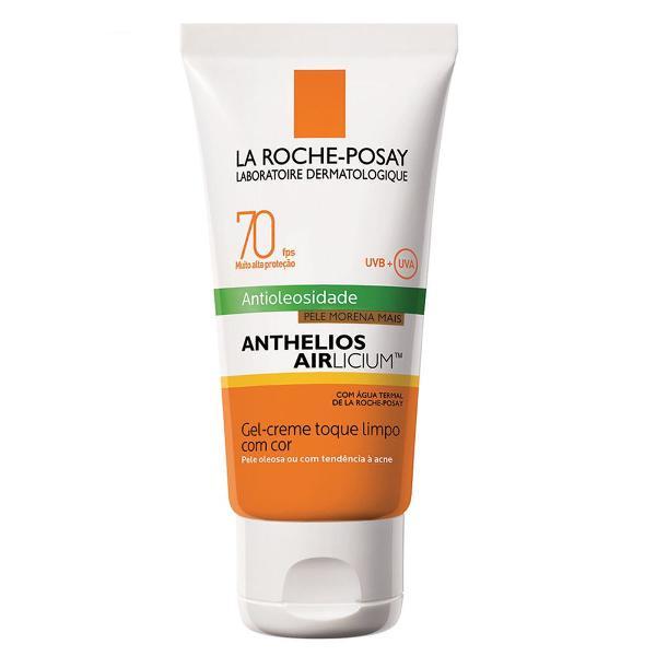 protetor solar facial com cor la roche-posay - anthelios