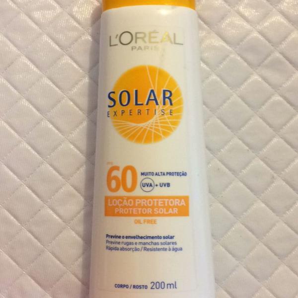 Protetor solar loreal