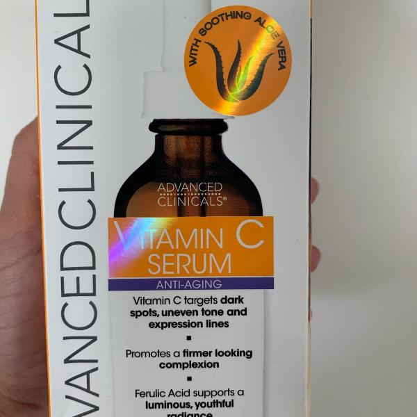 Serum vitamina c importado. 52ml