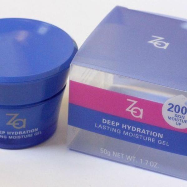 Shiseido za gel hidratante facial