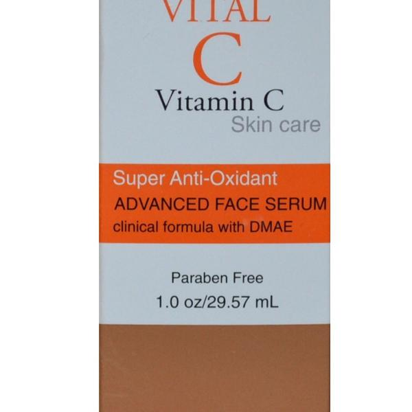 Sérum olhos vitamina c importado inglaterra
