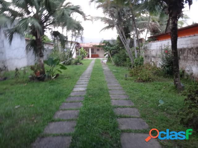 Casa com terreno - suspensa a venda - caraguatatuba - sp - porto novo