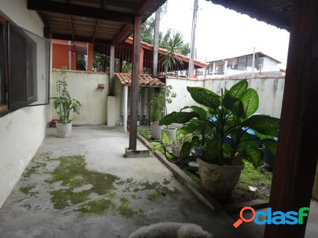 Sobrado 02 casas - venda-escritura definitiva - caraguatatuba - sp - porto novo
